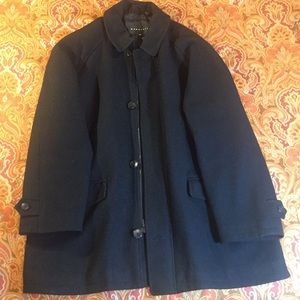 Other - Men's Black Baracuta Wool Coat - XXL